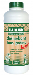 Désherbant tous jardins - Clairland - 910 ml