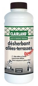 Désherbant allées et terrasses - Clairland - 910 ml