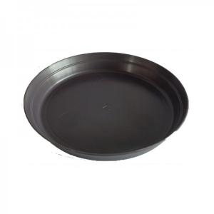 Soucoupe pour pot Roméo - Poetic - noir- 25 cm