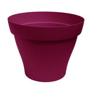 Pot rond Roméo - Poetic - griotte -  35 cm
