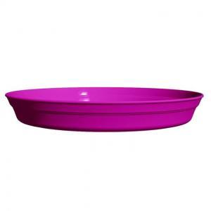 Soucoupe pour pot - Roméo -  17 cm - Fuchsia