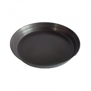 Soucoupe pour pot Roméo - Poetic - noir- 21 cm