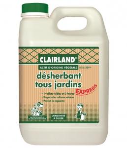 Désherbant tous jardins - Clairland - 2,5 L