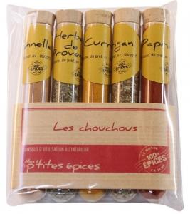 Les chouchous en tube - Le Monde en tube - 43 gr - lot de 5