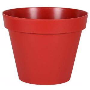 Pot - Toscane - Rond - 76 L - Rouge Rubis