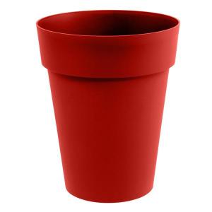 Vase mi-haut - Toscane - 50 L - Ø 44 cm - Rouge rubis