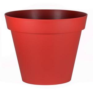 Pot - Toscane - Rond - Ø 100 - 356 L - Rouge rubis