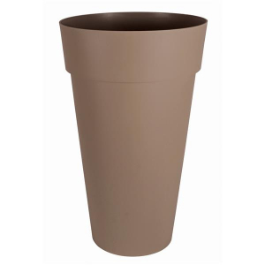 Vase haut - Toscane - XXL - 90 L - Ø 48 cm - Taupe
