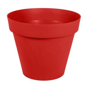 Pot - Toscane - Rond - 170 L - Rouge rubis