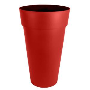 Vase haut - Toscane - XXL - 90 L - Ø 48 cm - Rouge rubis