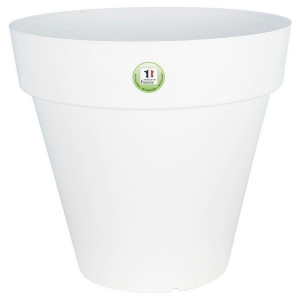 Pot de fleurs Soleilla - Riviera System - Blanc - Ø 39 x 36 cm