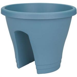 Pot de balcon - Corsica Flower Brigde - Ø 30 cm - Bleu vintage