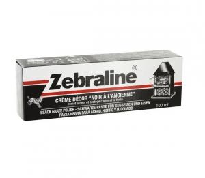 Crème Décor Noir à l'ancienne Zebraline - Tube de 100 ml