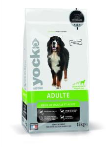 Croquettes Yock Nutrition pour chien - Grandes races - 15 kg