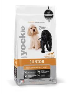 Croquettes Yock Nutrition pour chien Junior - 4 kg