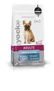Croquettes Yock nutrition - Formule allégée - Petit chien - 4 kg