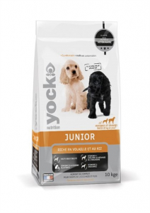 Croquettes Yock Nutrition Junior  - 10 kg