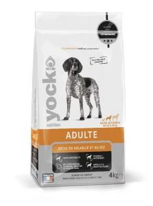 Croquettes Yock Nutrition Adulte - Race moyenne - 4 kg