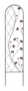 Treillis Métallique - Yin & Yang -Anthracite 35 x 150 cm