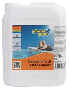 Oxygène actif choc - Planet Pool - liquide - 5 L