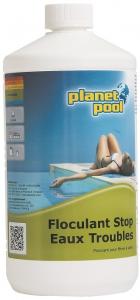 Floculant stop eaux troubles - Planet pool - liquide - 1 L