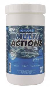 Chlore multi actions - EDG by Aqualux - galets de 250 gr - 1 kg
