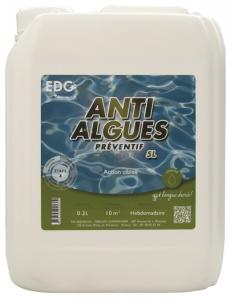 Anti-algues préventif - EDG by Aqualux - liquide - 5 L