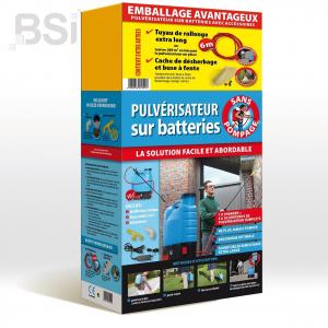 Pulvérisateur sur batteries avec kit d'accessoires BSI - 15 L