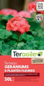Terreau géraniums UAB Teragile BIOLANDES PIN DECOR - 50 L