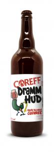 Bière Blonde Cuivrée Dramm Hud - COREFF - Bouteille de 75 cl