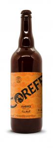 Bière Classic Ambrée - COREFF - Bouteille de 75 cl