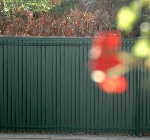 Occultations Screeno Line en PVC pour panneaux - Betafence - vert - 1.03 m