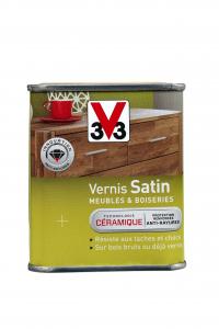 Vernis satin V33 - Incolore - 250 ml