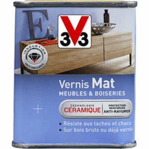 Vernis mat V33 - Incolore - 250 ml