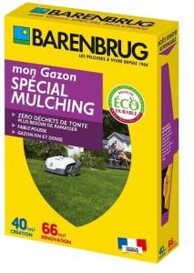 Gazon spécial mulching - Barenbrug - 1kg