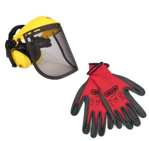 Visière + protège oreilles + gants - Oregon