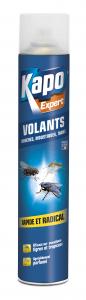 Aérosol contre tous les insectes volants - Kapo - 400 ml