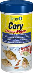 Tetra Cory ShrimpWafers 250 ml - Aliment complet pour les poissons de fond