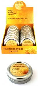 Perles miel et gelée royale - Finabeil - 50 gr