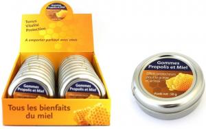 Gommes propolis et miel - finabeil - 50 gr