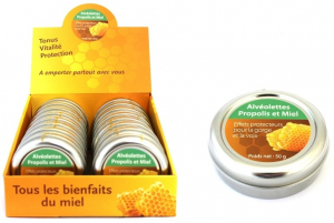 Alvéolettes propolis et miel - Finabeil - 50 gr