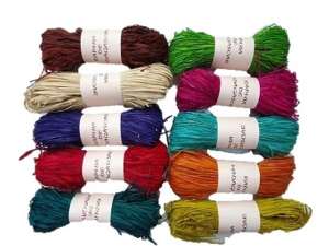 Bobine de raphia couleur - Baldauf Diffusion - 50 gr