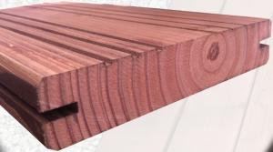 Lame de terrasse réversible Douglas - SUN BOIS - Classe 3 - 2,7 x 14 cm