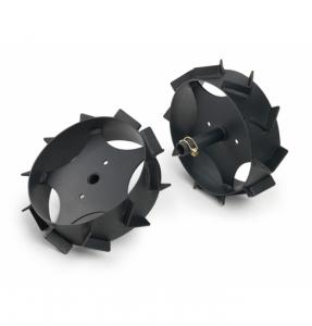Jeu de roues métalliques - Viking - 30 cm