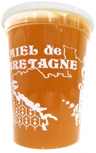 Pot La Bretonne - Bretagne Apiculture - blanc - 500 gr