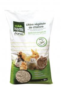 Litière végétale de chanvre - Hami Form - 10 L