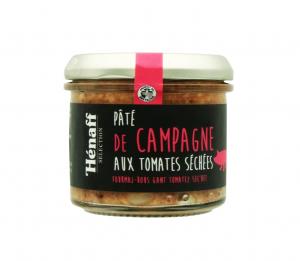 Pâté de campagne aux tomates séchées - Hénaff Sélection - 90 g