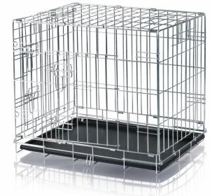 Cage de transport galvanisée - Trixie - 64 x 54 x 48 cm