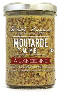 Moutarde au miel à l'ancienne - Famille Perronneau - 210 gr