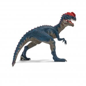 Figurine Dilophosaure - Schleich - Bleu - 15.5 x 8.5 x 11.5 cm